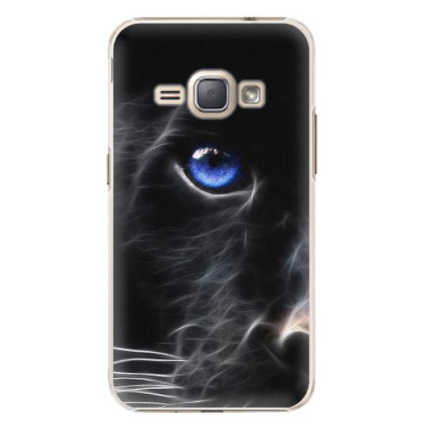 Plastové pouzdro iSaprio - Black Puma - Samsung Galaxy J1 2016