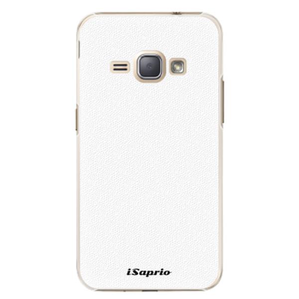 Plastové pouzdro iSaprio - 4Pure - bílý - Samsung Galaxy J1 2016