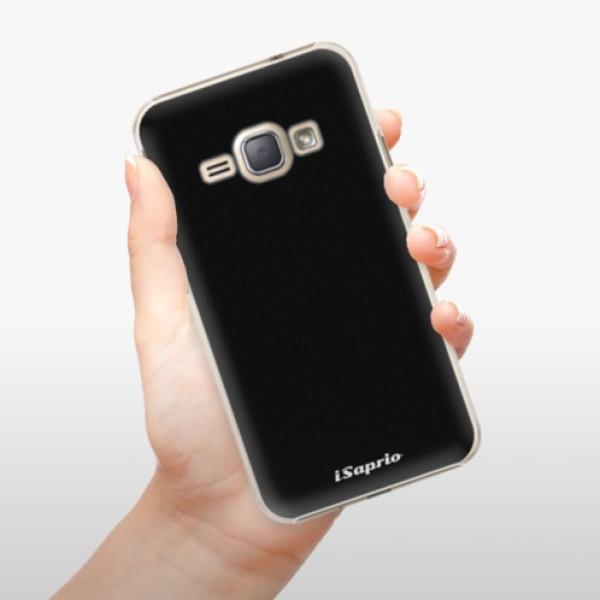 Plastové pouzdro iSaprio - 4Pure - černý - Samsung Galaxy J1 2016