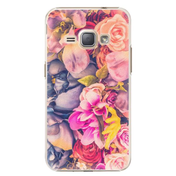 Plastové pouzdro iSaprio - Beauty Flowers - Samsung Galaxy J1 2016