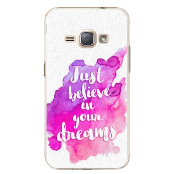 Plastové pouzdro iSaprio - Believe - Samsung Galaxy J1 2016