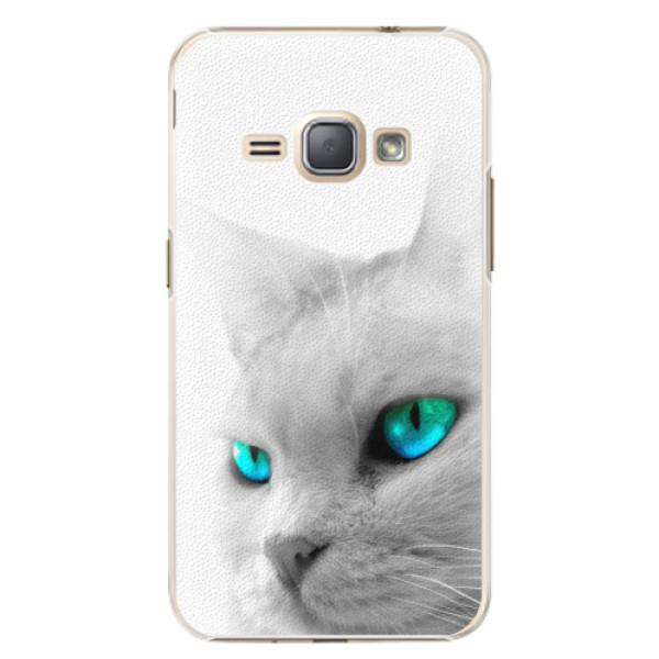 Plastové pouzdro iSaprio - Cats Eyes - Samsung Galaxy J1 2016
