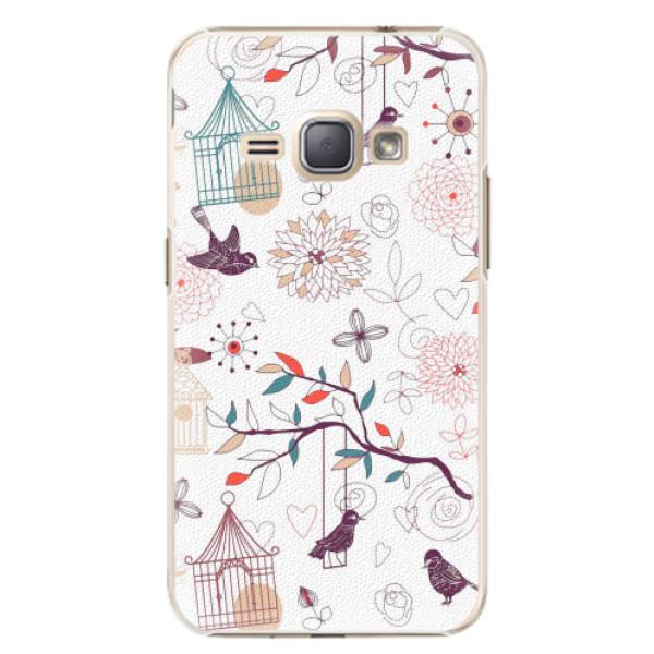 Plastové pouzdro iSaprio - Birds - Samsung Galaxy J1 2016