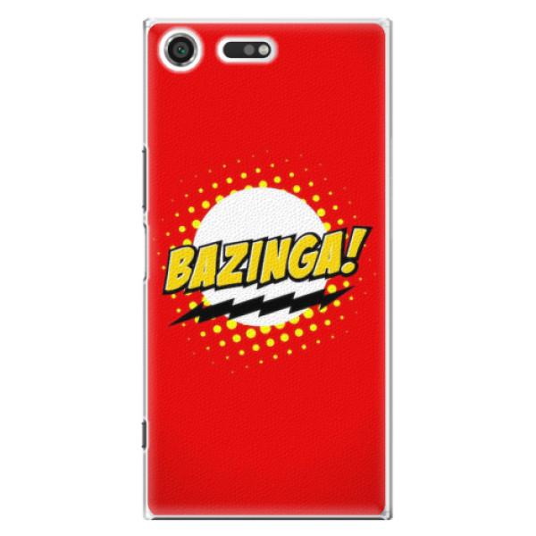 Plastové pouzdro iSaprio - Bazinga 01 - Sony Xperia XZ Premium