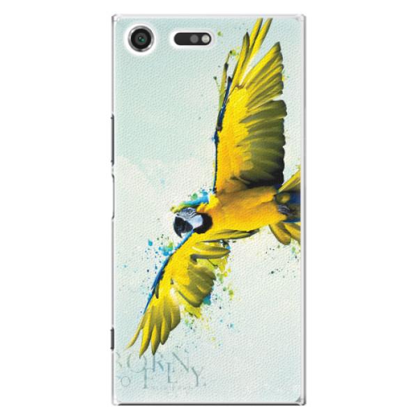 Plastové pouzdro iSaprio - Born to Fly - Sony Xperia XZ Premium