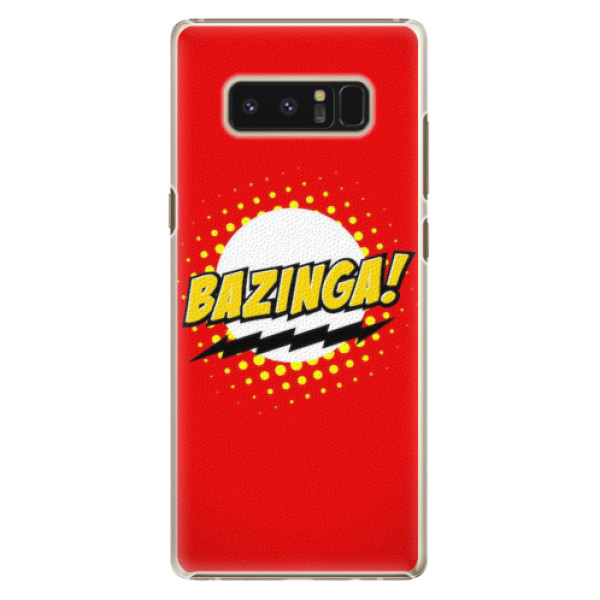 Plastové pouzdro iSaprio - Bazinga 01 - Samsung Galaxy Note 8