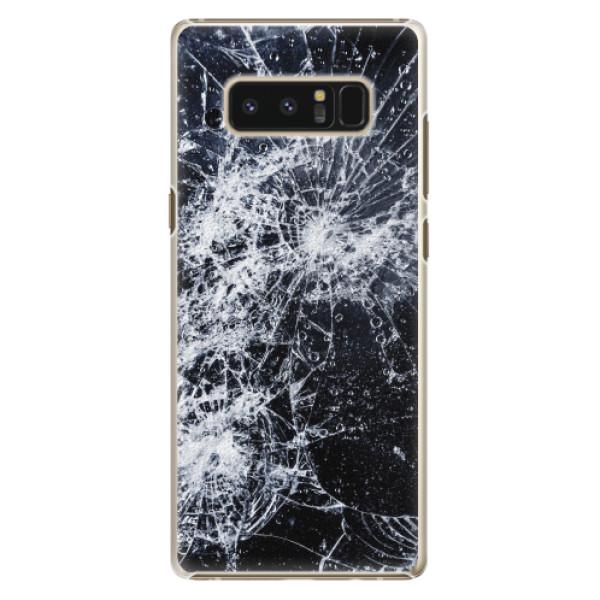 Plastové pouzdro iSaprio - Cracked - Samsung Galaxy Note 8
