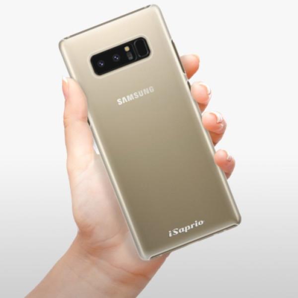 Plastové pouzdro iSaprio - 4Pure - mléčný bez potisku - Samsung Galaxy Note 8
