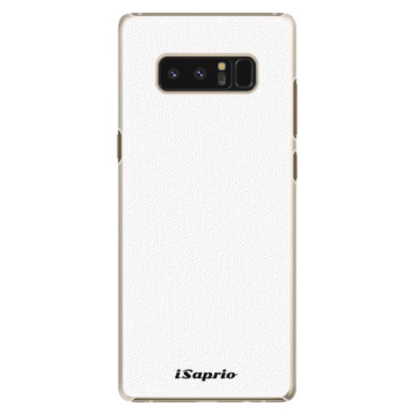 Plastové pouzdro iSaprio - 4Pure - bílý - Samsung Galaxy Note 8