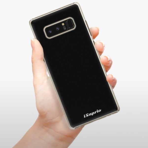 Plastové pouzdro iSaprio - 4Pure - černý - Samsung Galaxy Note 8