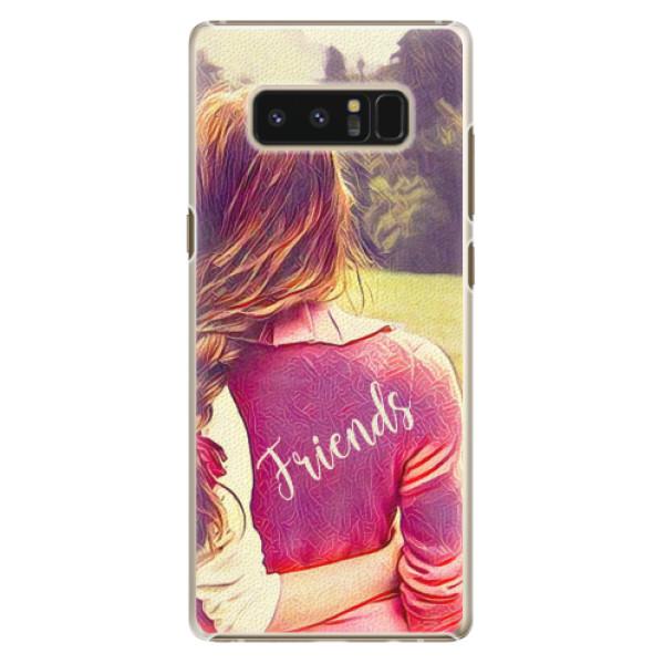 Plastové pouzdro iSaprio - BF Friends - Samsung Galaxy Note 8