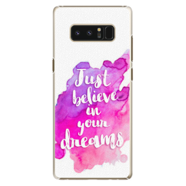 Plastové pouzdro iSaprio - Believe - Samsung Galaxy Note 8