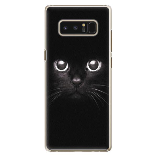 Plastové pouzdro iSaprio - Black Cat - Samsung Galaxy Note 8