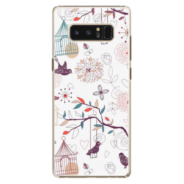 Plastové pouzdro iSaprio - Birds - Samsung Galaxy Note 8