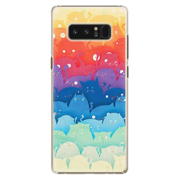 Plastové pouzdro iSaprio - Cats World - Samsung Galaxy Note 8