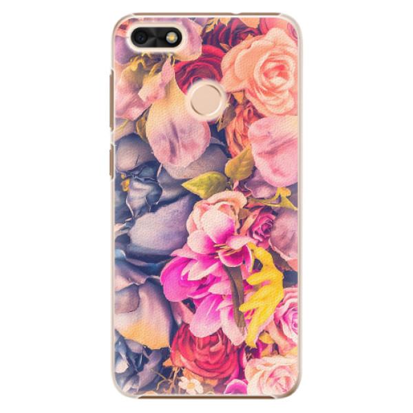Plastové pouzdro iSaprio - Beauty Flowers - Huawei P9 Lite Mini