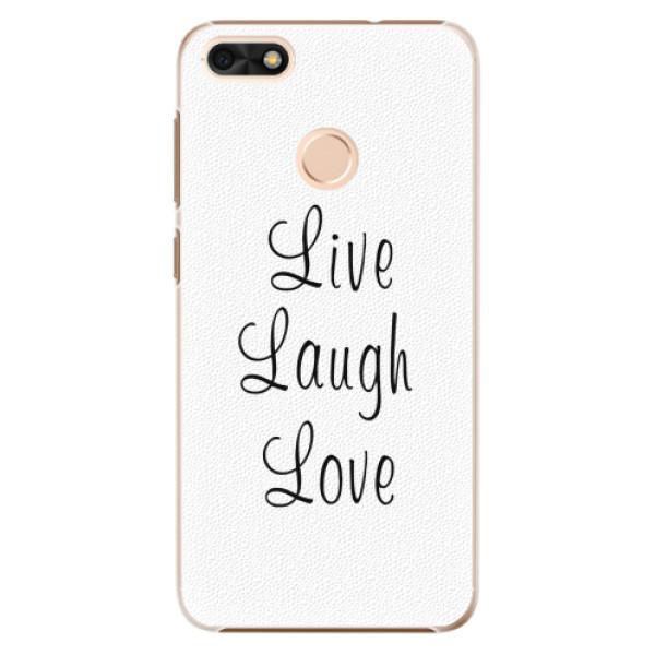 Plastové pouzdro iSaprio - Live Laugh Love - Huawei P9 Lite Mini