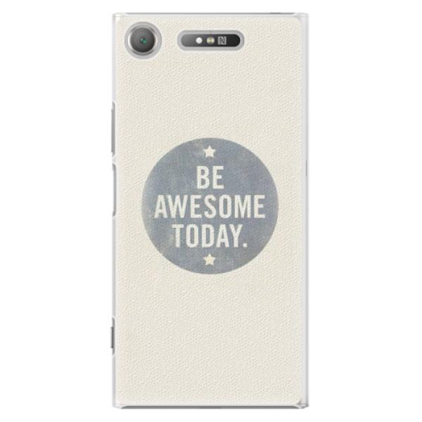 Plastové pouzdro iSaprio - Awesome 02 - Sony Xperia XZ1
