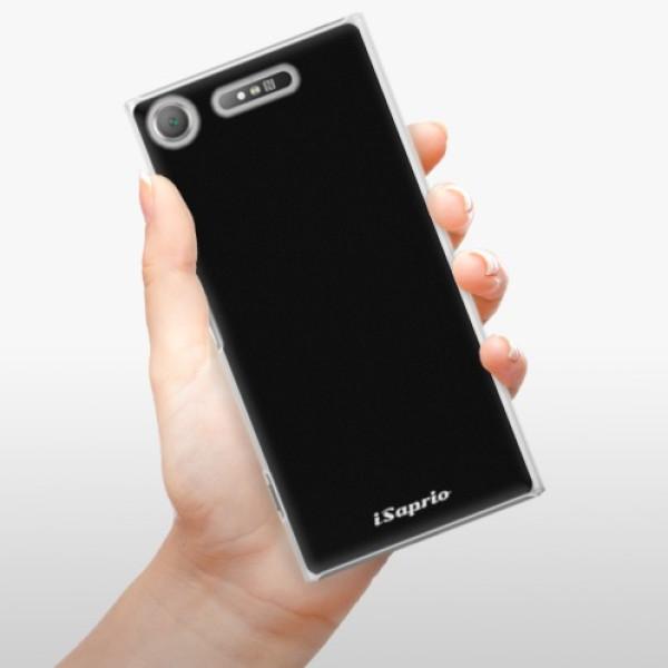Plastové pouzdro iSaprio - 4Pure - černý - Sony Xperia XZ1