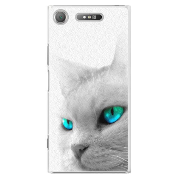 Plastové pouzdro iSaprio - Cats Eyes - Sony Xperia XZ1