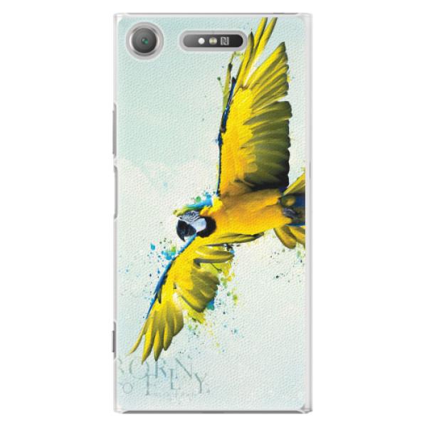 Plastové pouzdro iSaprio - Born to Fly - Sony Xperia XZ1