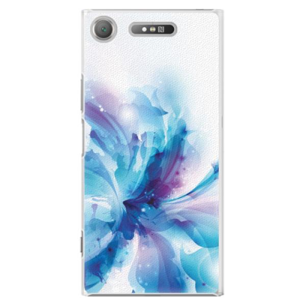 Plastové pouzdro iSaprio - Abstract Flower - Sony Xperia XZ1