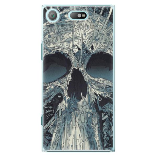 Plastové pouzdro iSaprio - Abstract Skull - Sony Xperia XZ1 Compact