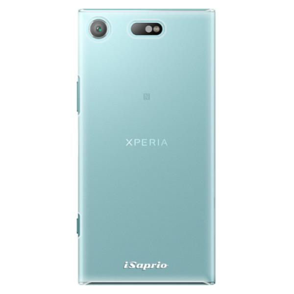 Plastové pouzdro iSaprio - 4Pure - mléčný bez potisku - Sony Xperia XZ1 Compact