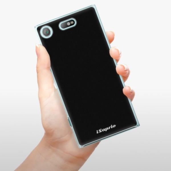 Plastové pouzdro iSaprio - 4Pure - černý - Sony Xperia XZ1 Compact