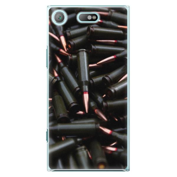 Plastové pouzdro iSaprio - Black Bullet - Sony Xperia XZ1 Compact