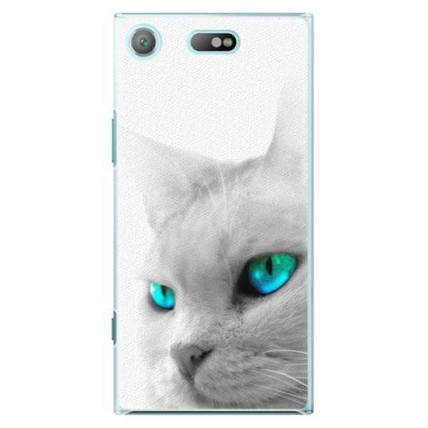 Plastové pouzdro iSaprio - Cats Eyes - Sony Xperia XZ1 Compact