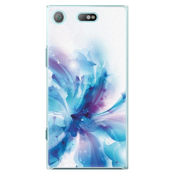 Plastové pouzdro iSaprio - Abstract Flower - Sony Xperia XZ1 Compact