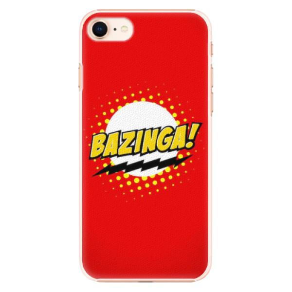 Plastové pouzdro iSaprio - Bazinga 01 - iPhone 8