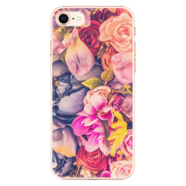 Plastové pouzdro iSaprio - Beauty Flowers - iPhone 8