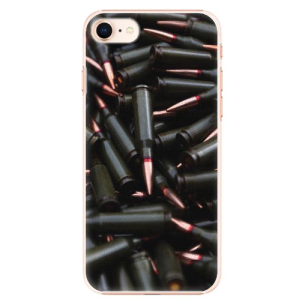 Plastové pouzdro iSaprio - Black Bullet - iPhone 8