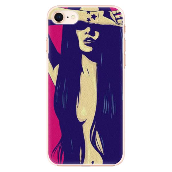 Plastové pouzdro iSaprio - Cartoon Girl - iPhone 8