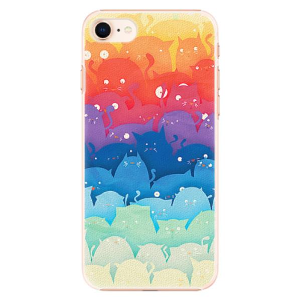 Plastové pouzdro iSaprio - Cats World - iPhone 8
