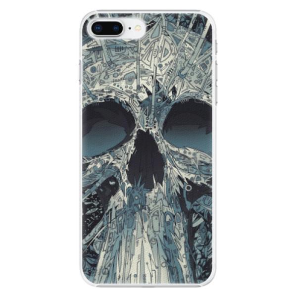 Plastové pouzdro iSaprio - Abstract Skull - iPhone 8 Plus
