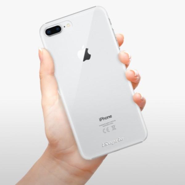 Plastové pouzdro iSaprio - 4Pure - mléčný bez potisku - iPhone 8 Plus
