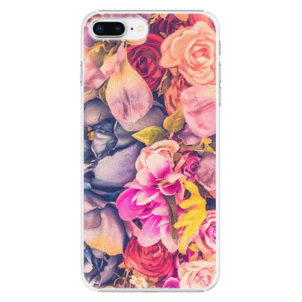 Plastové pouzdro iSaprio - Beauty Flowers - iPhone 8 Plus