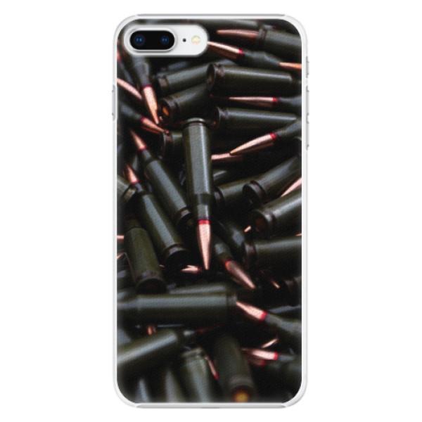 Plastové pouzdro iSaprio - Black Bullet - iPhone 8 Plus