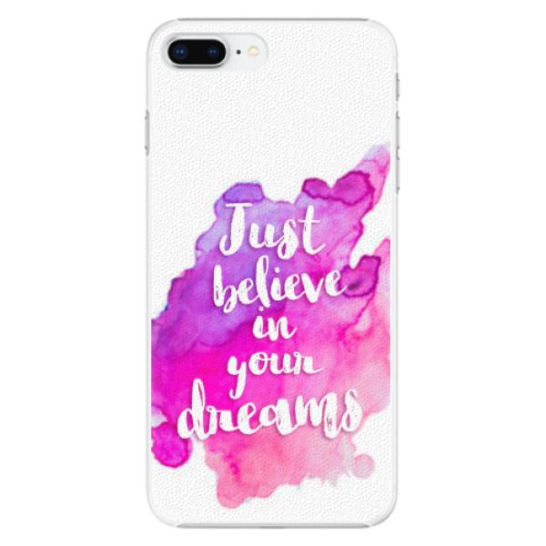 Plastové pouzdro iSaprio - Believe - iPhone 8 Plus