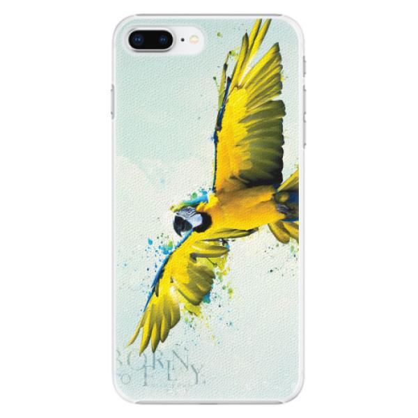Plastové pouzdro iSaprio - Born to Fly - iPhone 8 Plus