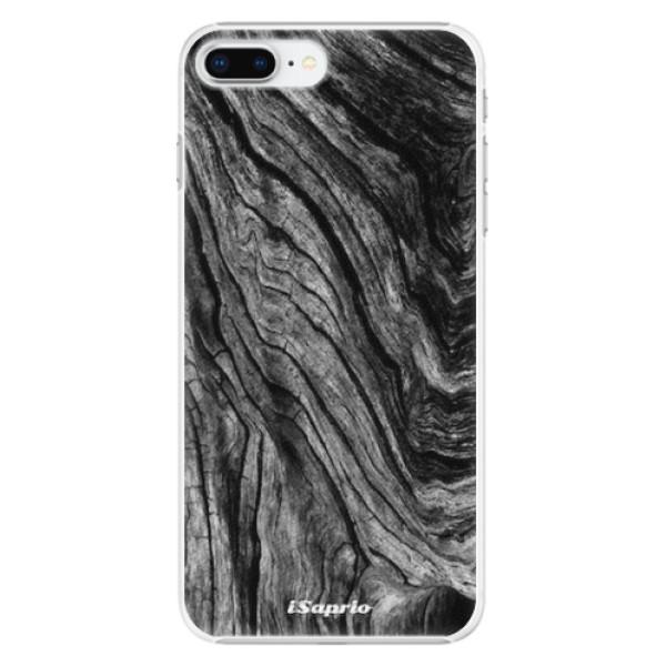 Plastové pouzdro iSaprio - Burned Wood - iPhone 8 Plus