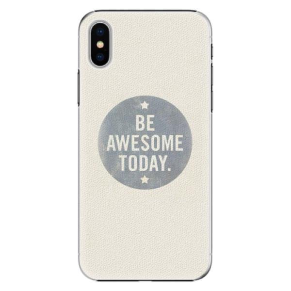 Plastové pouzdro iSaprio - Awesome 02 - iPhone X