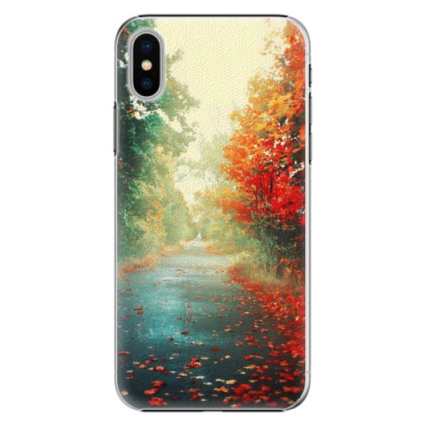 Plastové pouzdro iSaprio - Autumn 03 - iPhone X