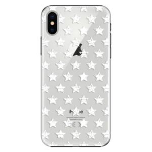 Stars Pattern - white