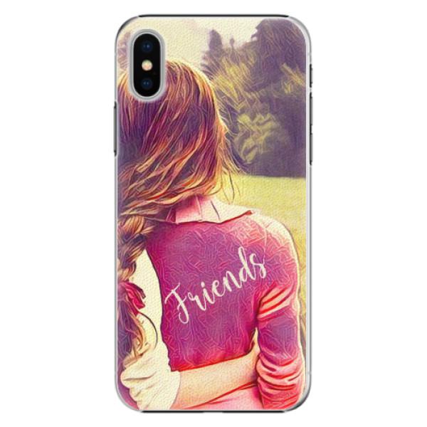 Plastové pouzdro iSaprio - BF Friends - iPhone X