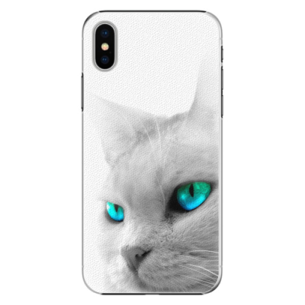 Plastové pouzdro iSaprio - Cats Eyes - iPhone X