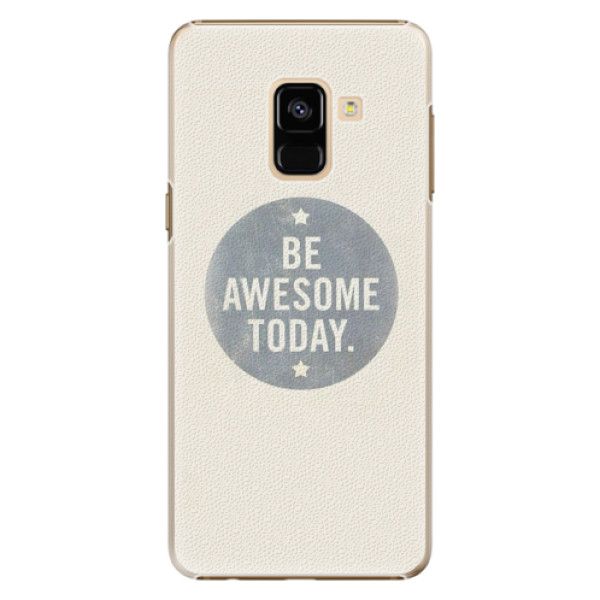 Plastové pouzdro iSaprio - Awesome 02 - Samsung Galaxy A8 2018